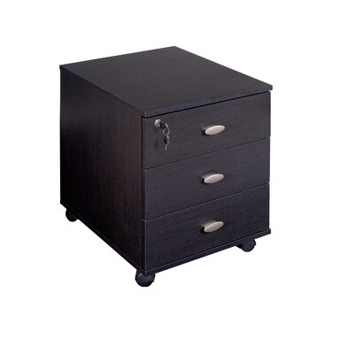 Three Posts Holbrook 3 Drawer Lateral File