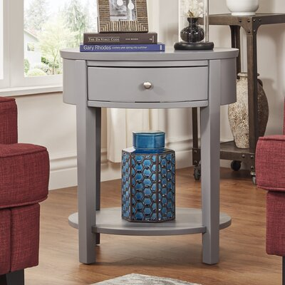 Three Posts Canterbury End Table