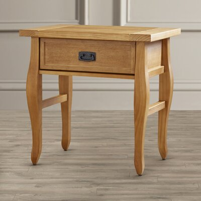 Three Posts Finleyville 1 Drawer End Table