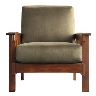 Three Posts Winnifred Mission Arm Chair