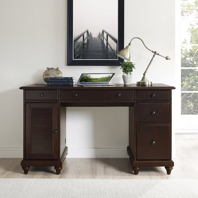 Three Posts Yancy Computer Desk