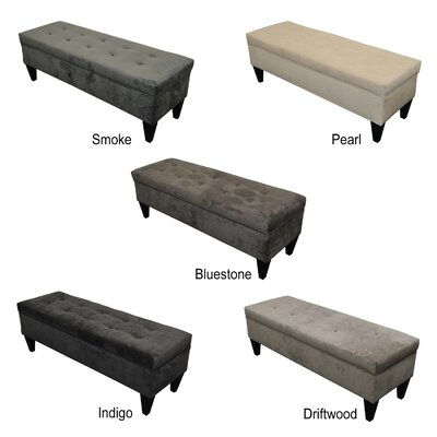 Three Posts Tusarora Upholstered Storage Bedroom Bench