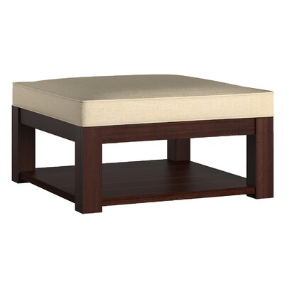 Three Posts Back East Cross Cushion Ottoman