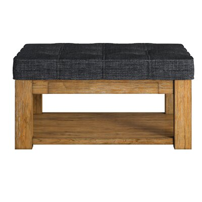 Three Posts Back East Tufted Trendy Ottoman