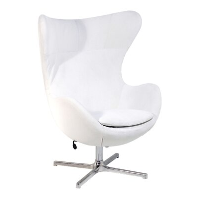 La Viola D?cor Muna Fabric Lounge Chair