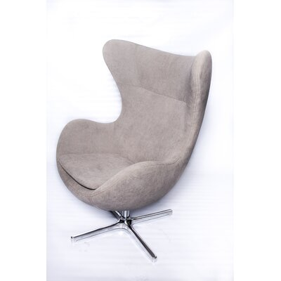 La Viola Décor Muna Fabric Lounge Chair