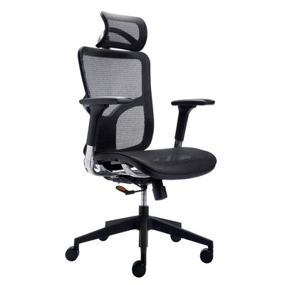 Silver Seating River High-Back Mesh Conference Chair