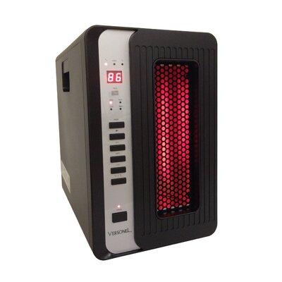 Versonel 3 Element Quartz Infrared Heater w/ Remote