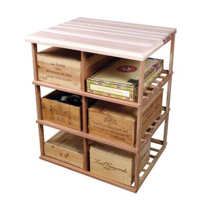 Wine Cellar Innovations Designer Series 60 Bottle Floor Wine Rack