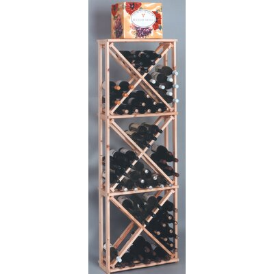 Wine Cellar Innovations Country Pine Open 132 Bottle Floor Wine Rack