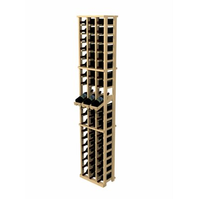 Wine Cellar Innovations Rustic Pine 60 Bottle Wall Mounted Wine Rack