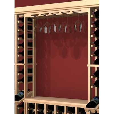 Wine Cellar Innovations Rustic Pine Hanging Wine Glass Rack