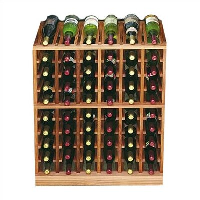 Wine Cellar Innovations Designer Series 60 Bottle Floor Wine Rack