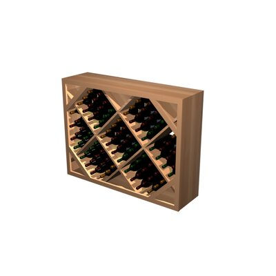 Wine Cellar Innovations Designer Series 91 Bottle Floor Wine Rack
