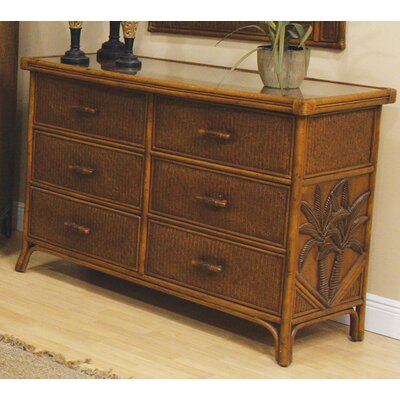 Bay Isle Home Cypress 6 Drawer Dresser