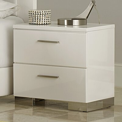 Wade Logan Brendan 2 Drawer Nightstand