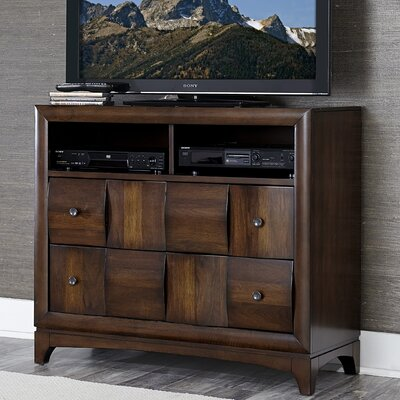 Homelegance Porter 4 Drawer Media Chest