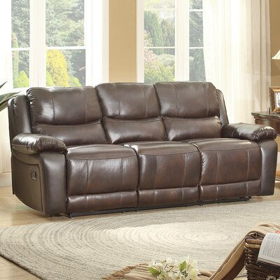 Homelegance Allenwood Leather Double Reclining S..