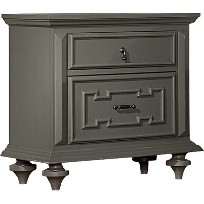 Homelegance Marceline 2 Drawer Nightstand