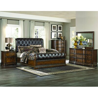 Homelegance Brompton Lane Sleigh Customizable Bedroom Set