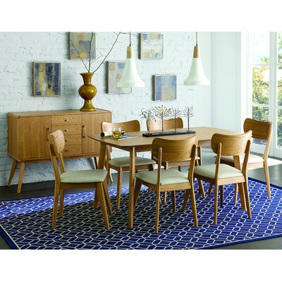 Homelegance Anika 7 Piece Dining Set
