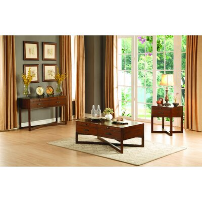 Homelegance Capitan Coffee Table Set