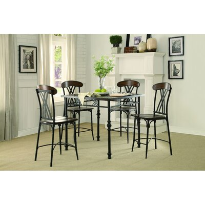 Homelegance Loyalton 5 Piece Dining Set