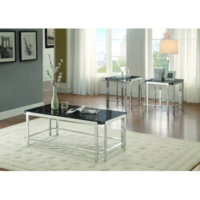 Brayden Studio Mcmorris Coffee Table Set