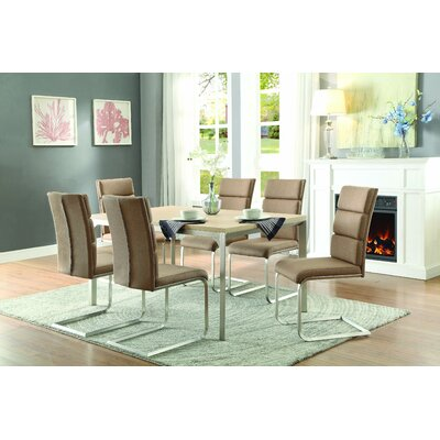 Homelegance Moriarty 7 Piece Dining Set