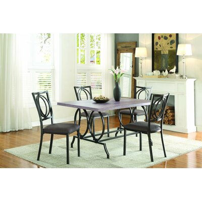 Homelegance Chama 5 Piece Dining Set