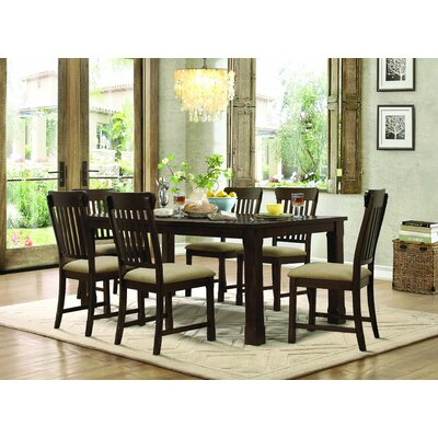 Homelegance Sycamore 7 Piece Dining Set