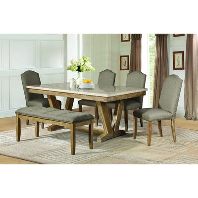 Homelegance Jemez 6 Piece Dining Set