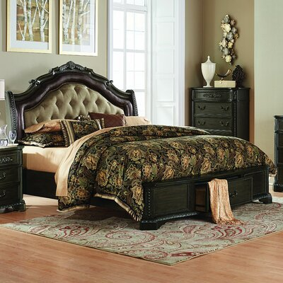 Homelegance Londrina Upholstered Panel Bed