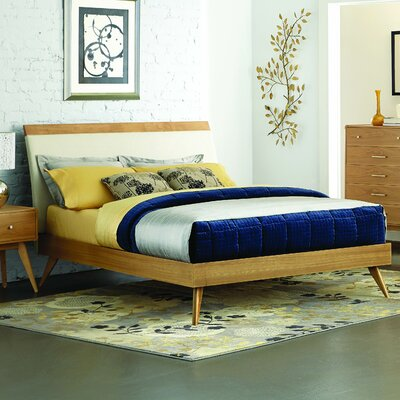 Homelegance Anika Upholstered Platform Bed