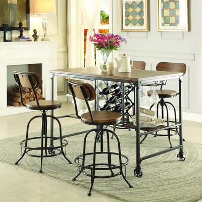 Homelegance Angstrom Counter Height Dining Table