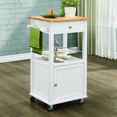 Alcott Hill Lithopolis Kitchen Cart