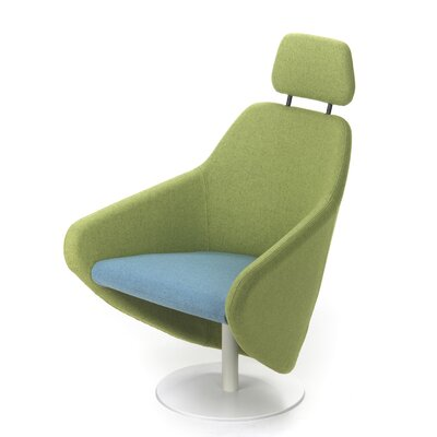 Segis U.S.A Taxido Swivel Lounge Chair with Headrest