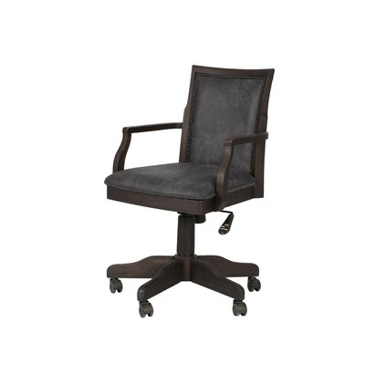 Loon Peak Manitou Springs Fully Desk Chair with Casters
