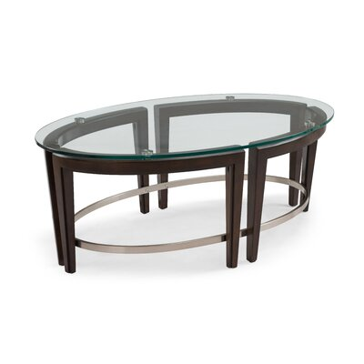 Brayden Studio Heslin Oval Coffee Table