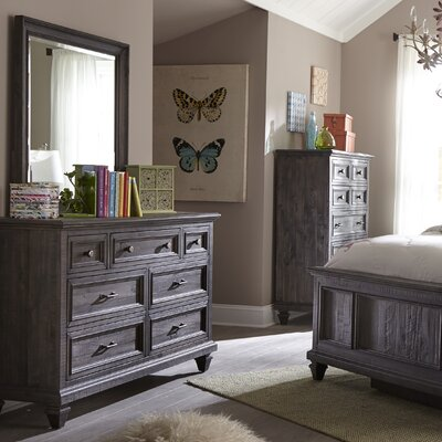 August Grove Delpha 7 Drawer Double Dresser