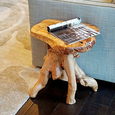 Welland LLC Root Wood Stand End Table