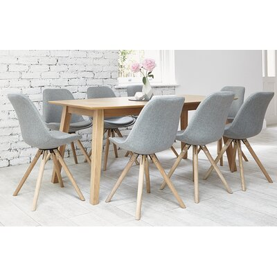 Homestead Living Frances Dining Table And 8 Chairs Wayfair UK