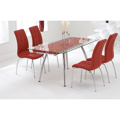 Home etc mintaro extendable dining table and 4 chairs for Furniture etc reviews