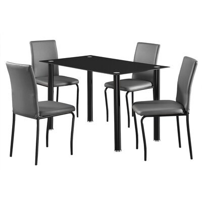 Home Haus Bentley Dining Table And 4 Chairs Reviews Wayfair Uk