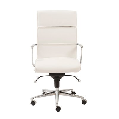Eurostyle Leif High-Back Leatherette Office Chair with Arms