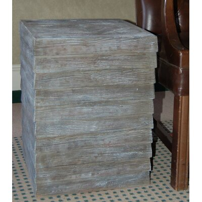 Hickory Manor House Plank End Table