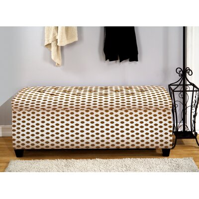 The Sole Secret Upholstered Storage Bedroom Bench