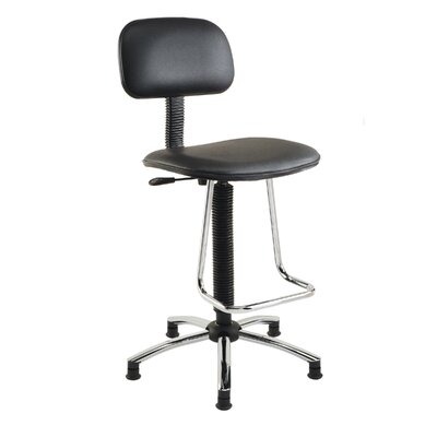 Nexel Mid-Back Drafting Chair with Footrest