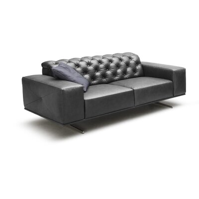 J&M Furniture Othello Italian Leather Sofa