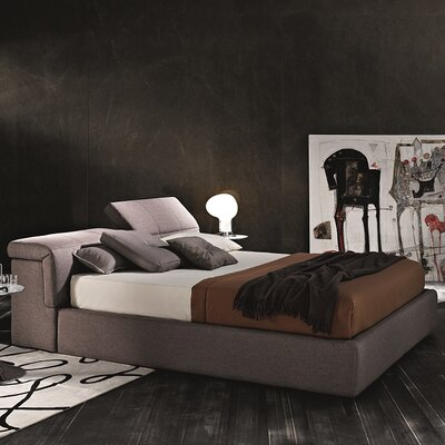 J&M Furniture Upholstered Platform Bed